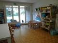 Gruppenzimmer mit Gartenzugang